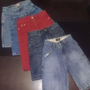 Lot of jeans shorts